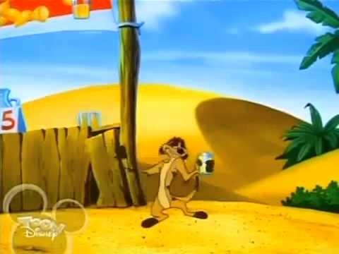 Timon & Pumbaa S6 EP01 Lemonade Stand Off Big Jungle Game