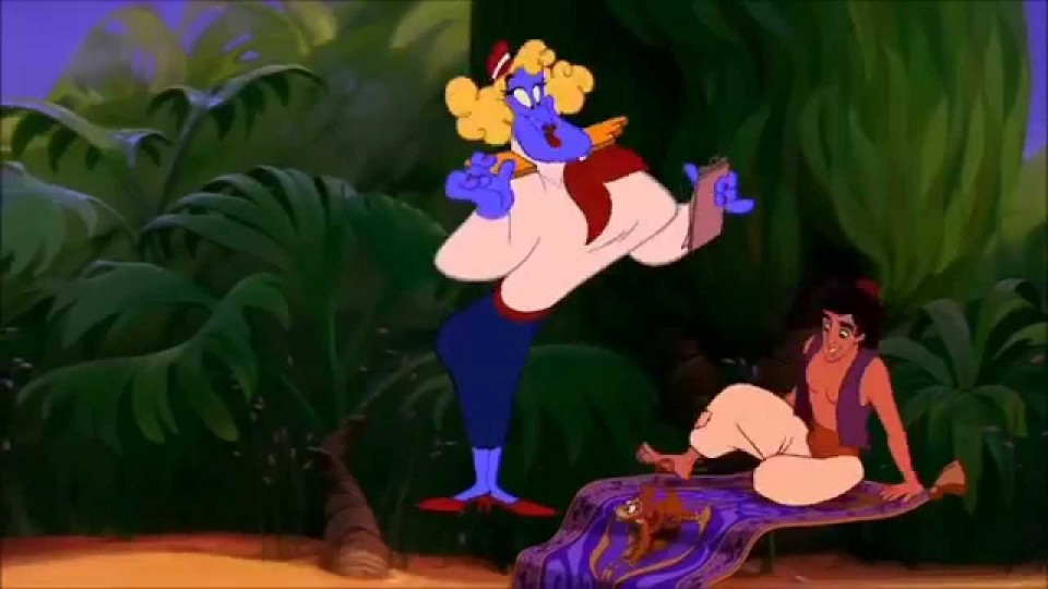 Aladdin and Genie Make Me a Prince HD