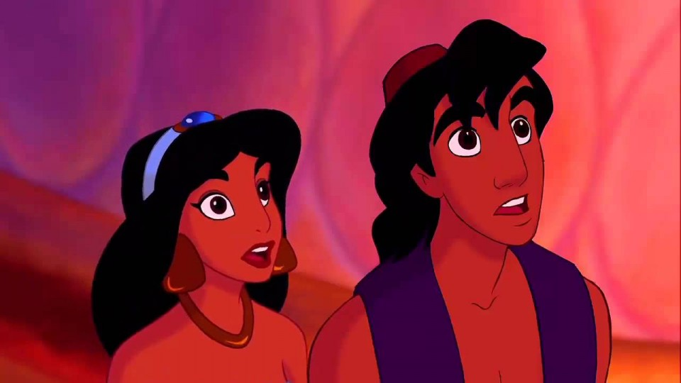 Aladdin frees the Genie HD
