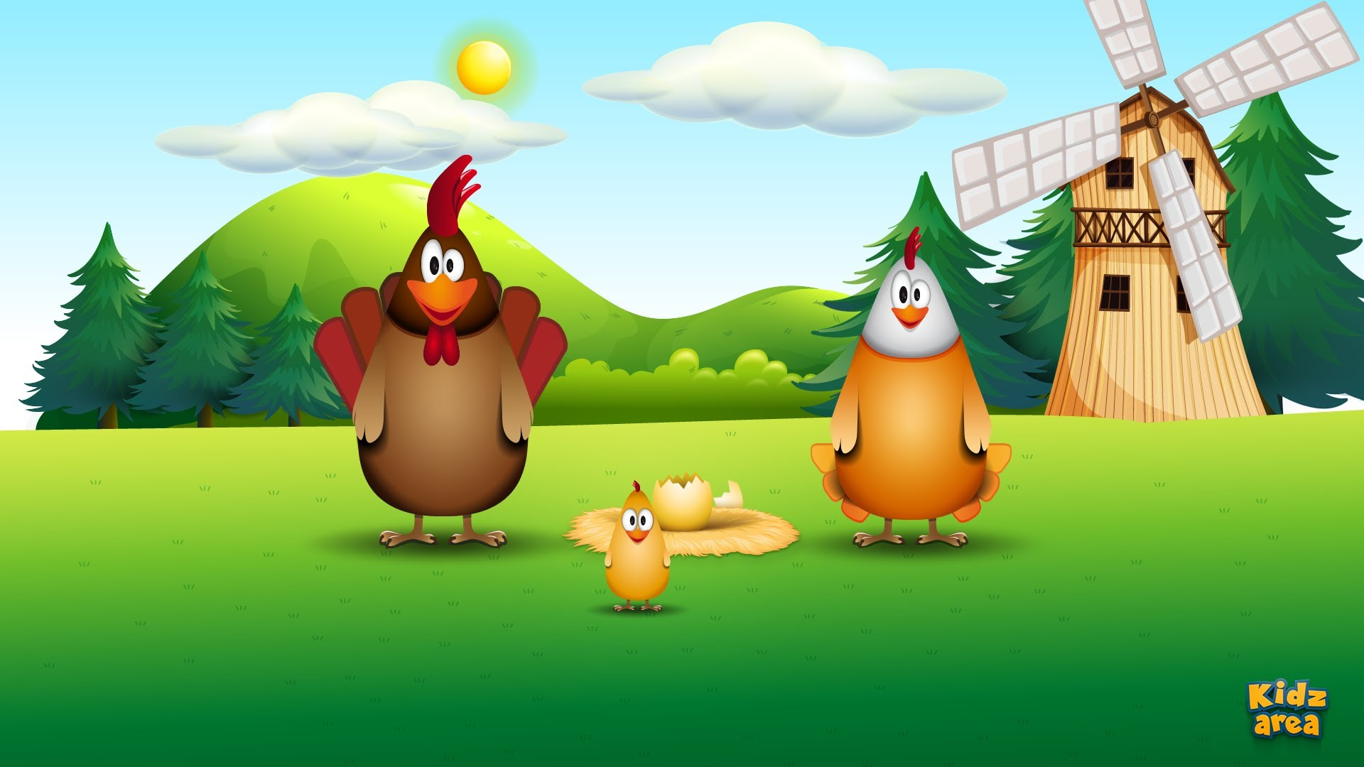 Chicken Family – funny song for kids