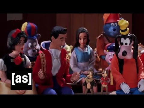 Goofy and Clarabelle | Robot Chicken | Adult Swim