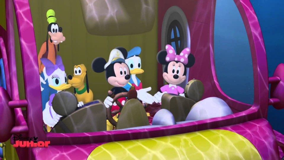 Mickey Mouse Clubhouse – Sea Captain Mickey – Octo-Pete – Disney Junior UK HD