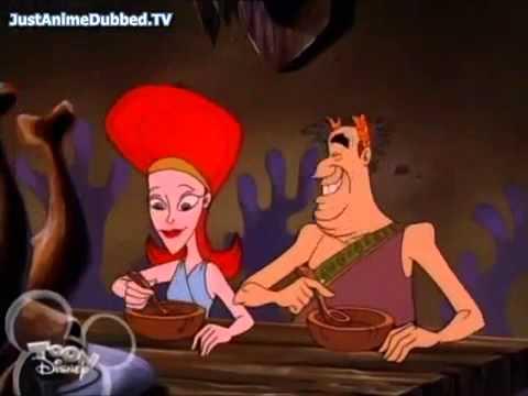 Hercules and the Big Kiss