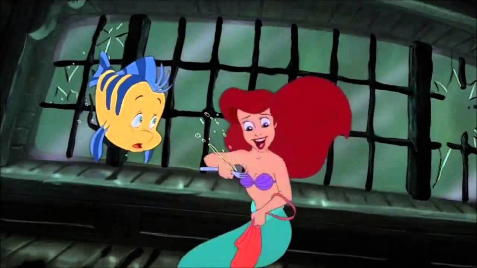The Little Mermaid – Sunken Ship and Shark Scene HD