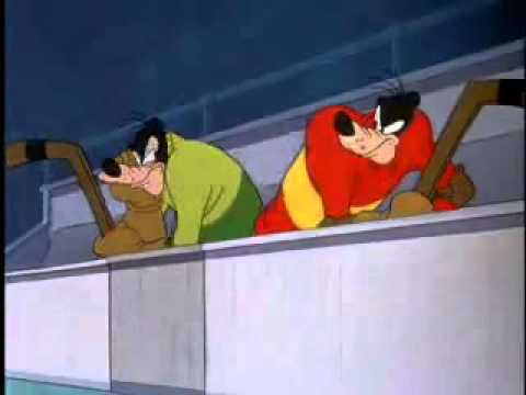 Goofy Cartoon Hockey Homicide 1945 Cartoon Classics Disney