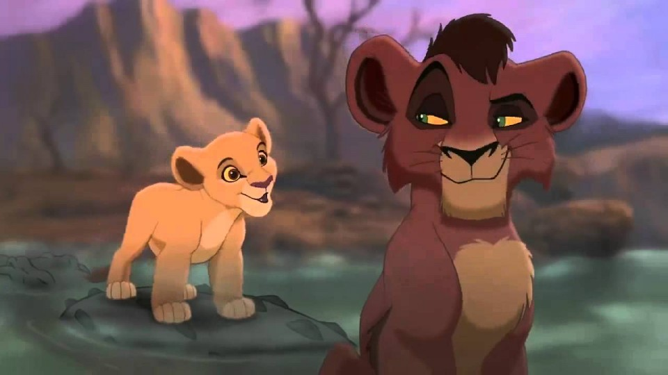 The Lion King 2 Simba's Pride Kiara Meets Kovu