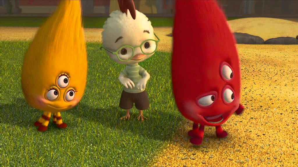 0:03 / 3:26 Chicken Little - A scene from the movie ...
